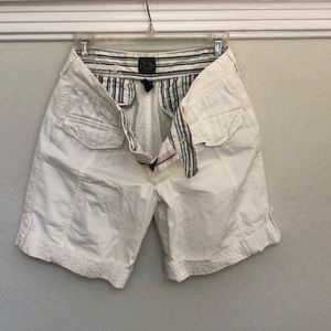 Lucky Brand cream colored shorts